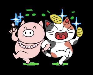 豚に真珠、猫に小判